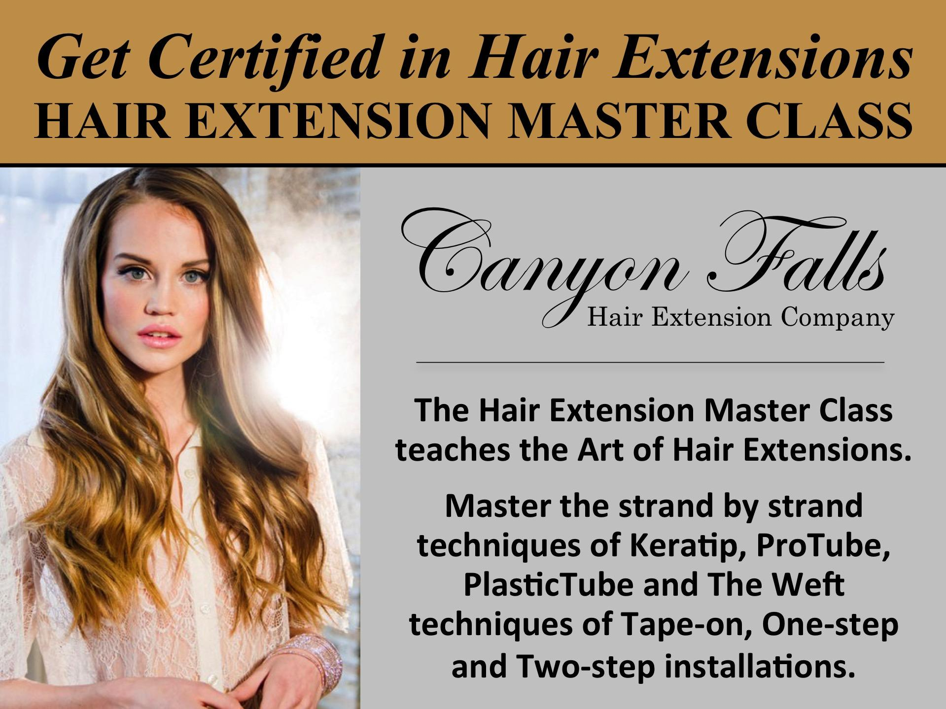 Hair Extensions Las Vegas Hair Extension Classes Salon Spa